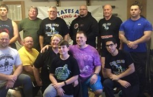 Group picture from the 2015 USAWA Grip Championships.