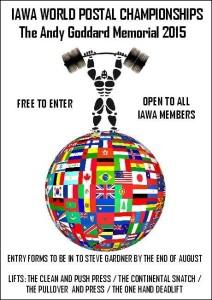 2015 IAWA World Postal Championships