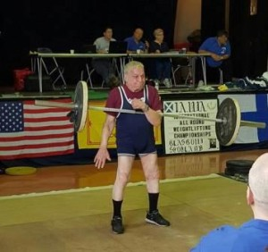 The previous week on his 88th birthday Art Montini won another World Championships in Glasgow, Scotland.