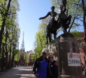 My wife Leslie and I enjoyed walking the Freedom Trail the last time we were in Boston.