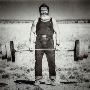 John Patterson spent many years training by himself in the Australian Outback.