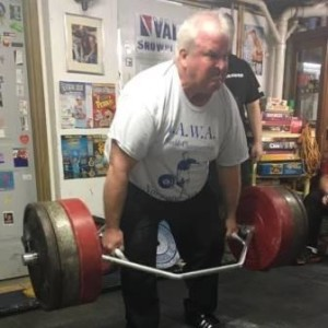 Rocky Morrison in action with a Trap Bar Deadlift.