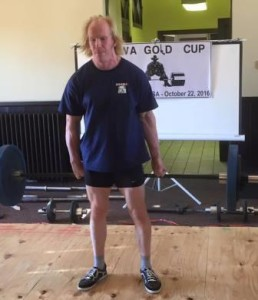 Timo Lauttamus and his outstanding Little Fingers Deadlift of 100 KG.