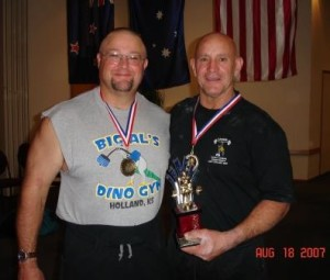 Peter and myself a few years back!