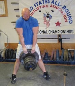 Troy Goetsch lifting 255 pounds in the Pinch Grip at the 2013 USAWA Grip Championships. This is the top record in the USAWA Record List for the Pinch Grip. Troy went on to win Overall Best Lifter in the Grip Championships.