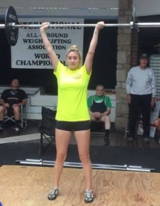 Kim Lydon is the USAWA Lifter of the Month.