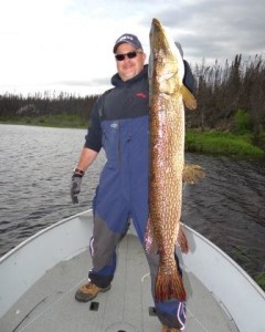 This is my monster Northern Pike I caught in Canada the week before the meet!