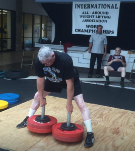LaVerne Myers in action at the 2016 IAWA World Championships.