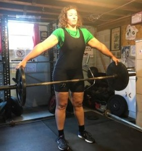 It was great to have Jenn from England compete in the Presidential Cup!  One of her lifts was the Reeves Deadlift.