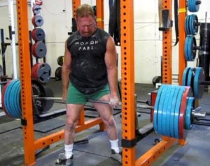 Dan Wagman pulling 726 pounds in the Kennedy Lift!