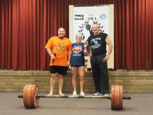 Best female lifter Monica Cook