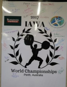 World Championship Banner.