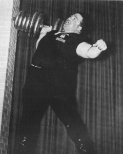 "Paul Anderson was so adept at ""speed lifting"" that the author once witnessed Anderson one arm press a 275 pound dumbbell for 3 fast reps within a blink of the eye!"
