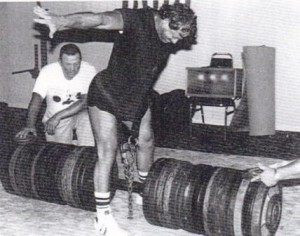 Steve Schmidt- one of the top 3 hip lifters in the history of the USAWA